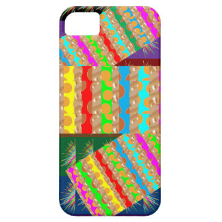 ARTISTIC Colorful Patch work: Great Gift OCCASIONS Case For The iPhone 5