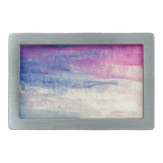 Artistic Colours Rectangular Belt Buckle