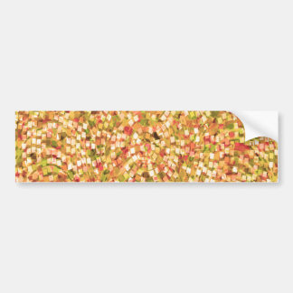 Artistic Confetti Template DIY Add Text IMG gifts Bumper Sticker