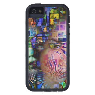 Artistic Confusion of Brain Fog iPhone 5 Covers