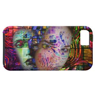 Artistic Confusion of Brain Fog iPhone 5 Cases