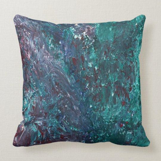 Artistic Cotton Throw Pillow