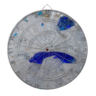 artistic creations with glass dartboard