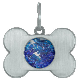 artistic creations with glass pet ID tags
