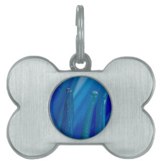 artistic creations with glass pet name tags