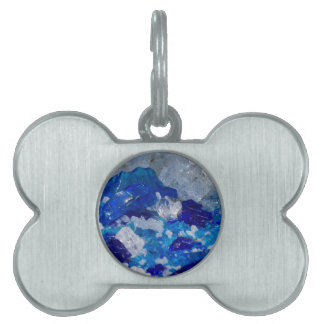 artistic creations with glass pet tag