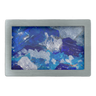 artistic creations with glass rectangular belt buckle