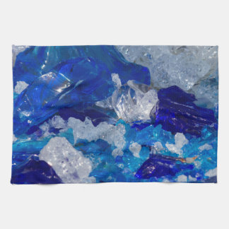 artistic creations with glass tea towel