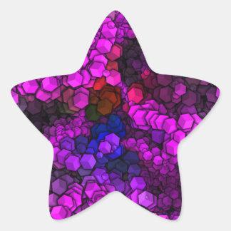artistic cubes 2 (I) Star Sticker