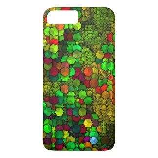 artistic cubes green (I) iPhone 7 Plus Case