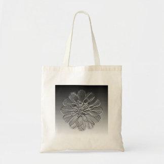 Artistic Dahlia Tote Bags