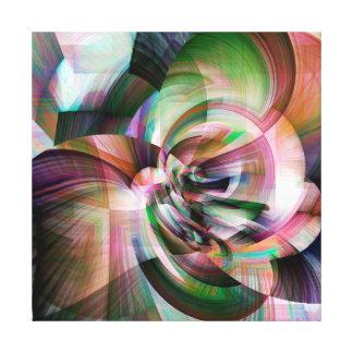 Artistic Digital Flower Canvas Print