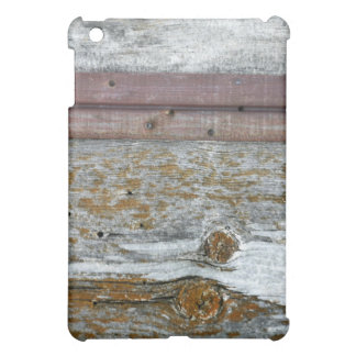 Artistic Distressed Wood Planks Protective iPad Mini Cover