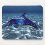 Artistic Dolphin Mouse Pad