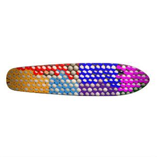 Artistic DOT  Matrix Pattern Custom Skate Board