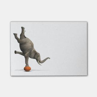 Artistic Elephant Post-it® Notes