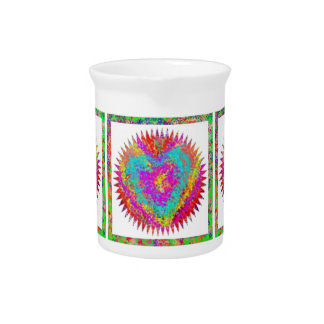 ARTISTIC Expression : MATTER OF HEART Drink Pitchers