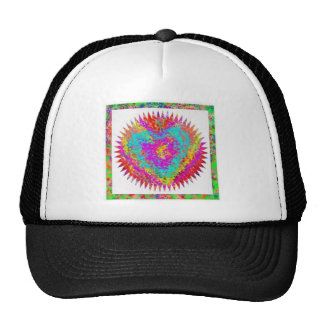 ARTISTIC Expression MATTER OF HEART Mesh Hats