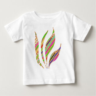 Artistic FIRE FLAME Keep spiritual energy flowing Baby T-Shirt
