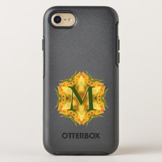 Artistic Floral Fractal with Initial OtterBox Symmetry iPhone 8/7 Case