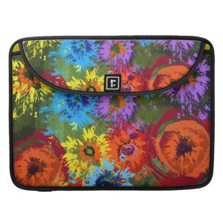 Artistic Flower Field Sleeve For MacBook Pro
