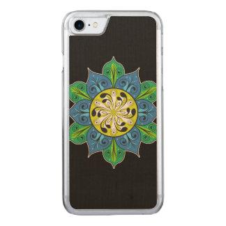 Artistic Flower Illustration Carved iPhone 8/7 Case