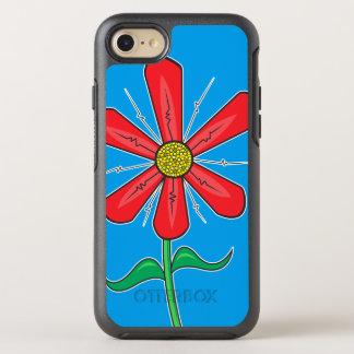Artistic Flower Illustration OtterBox Symmetry iPhone 8/7 Case
