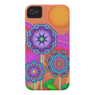 Artistic flowers & Sun Blackberry bold case