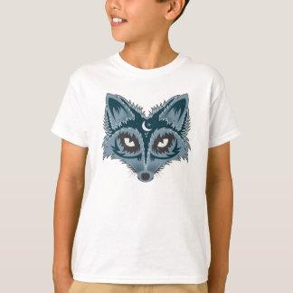 Artistic Fox (blue) T-Shirt
