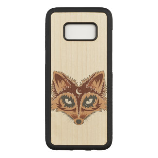 Artistic Fox (brown) Carved Samsung Galaxy S8 Case