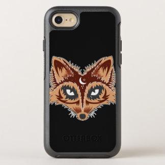 Artistic Fox Illustration OtterBox Symmetry iPhone 8/7 Case