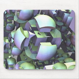 Artistic futuristic mousepad