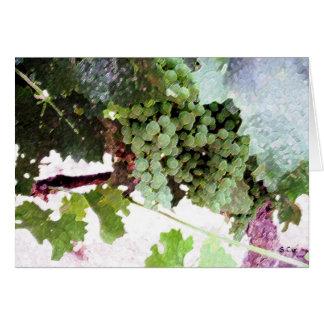 Artistic Grapes, S Cyr Card