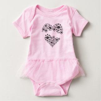 Artistic Heart Baby Bodysuit