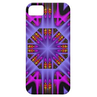 Artistic kaleidoscope star iPhone 5 cover