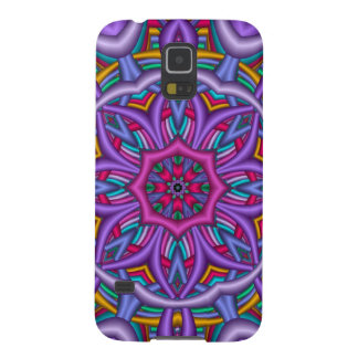 Artistic kaleidoscope with Patterns Case For Galaxy S5
