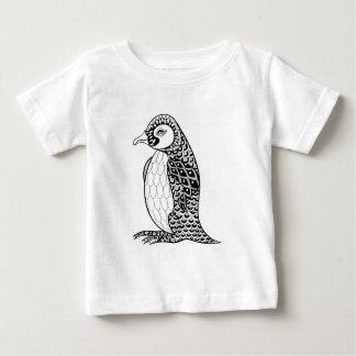 Artistic King Penguin Zendoodle Baby T-Shirt