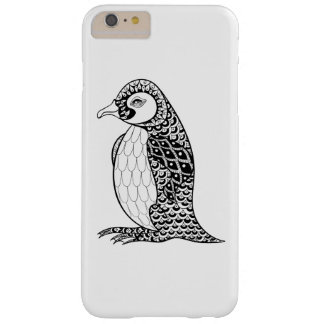 Artistic King Penguin Zendoodle Barely There iPhone 6 Plus Case