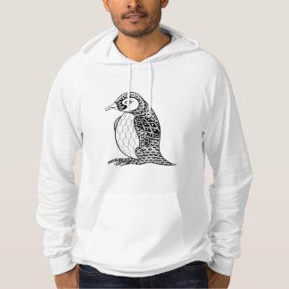 Artistic King Penguin Zendoodle Hoodie