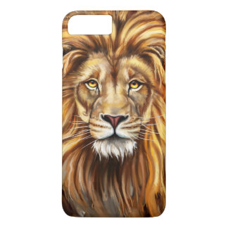 Artistic Lion Face Barely There iPhone 7 Plus Case