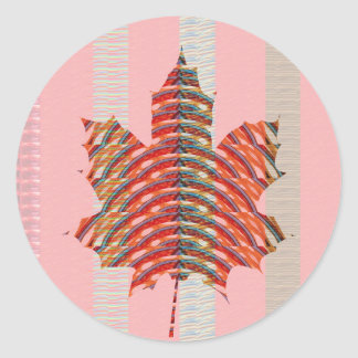 ARTISTIC MAPLELEAF: Taste Maple Syrup Sweet GIFTS Sticker
