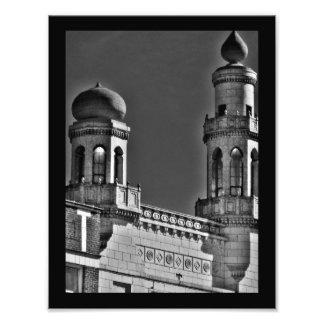 Artistic Minarets Photographic Print