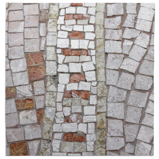 artistic mosaic napkin
