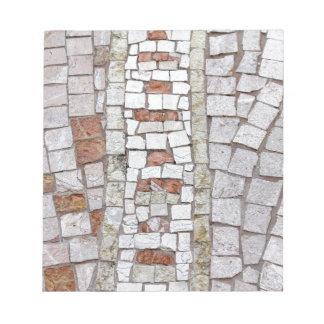 artistic mosaic notepad