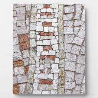 artistic mosaic plaque