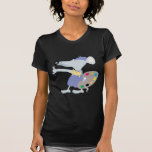 Artistic Mouse Tee Shirt