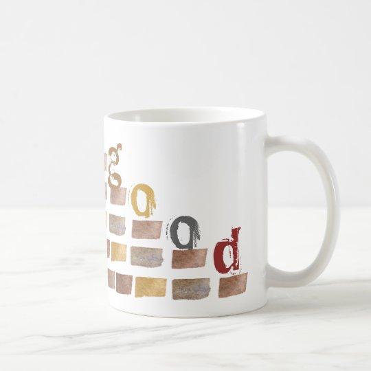 Artistic Mug in Earth Tone Colours