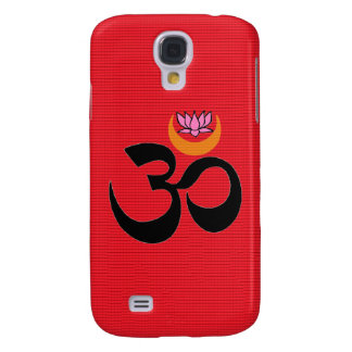 Artistic Om - Red iPhone Case Galaxy S4 Case