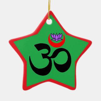 Artistic Om - Yoga Ornament