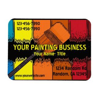 Artistic painter custom referral magnet